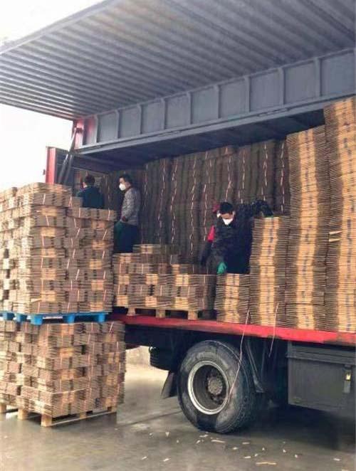杨帆印务正在装运抗疫药品包装