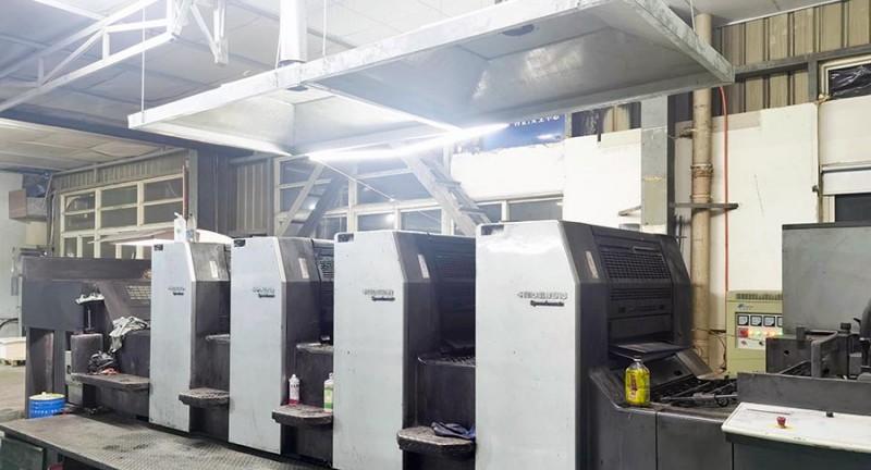 海德堡74型四色印刷机