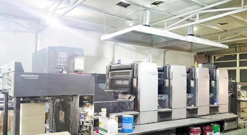 海德堡102型四色印刷机